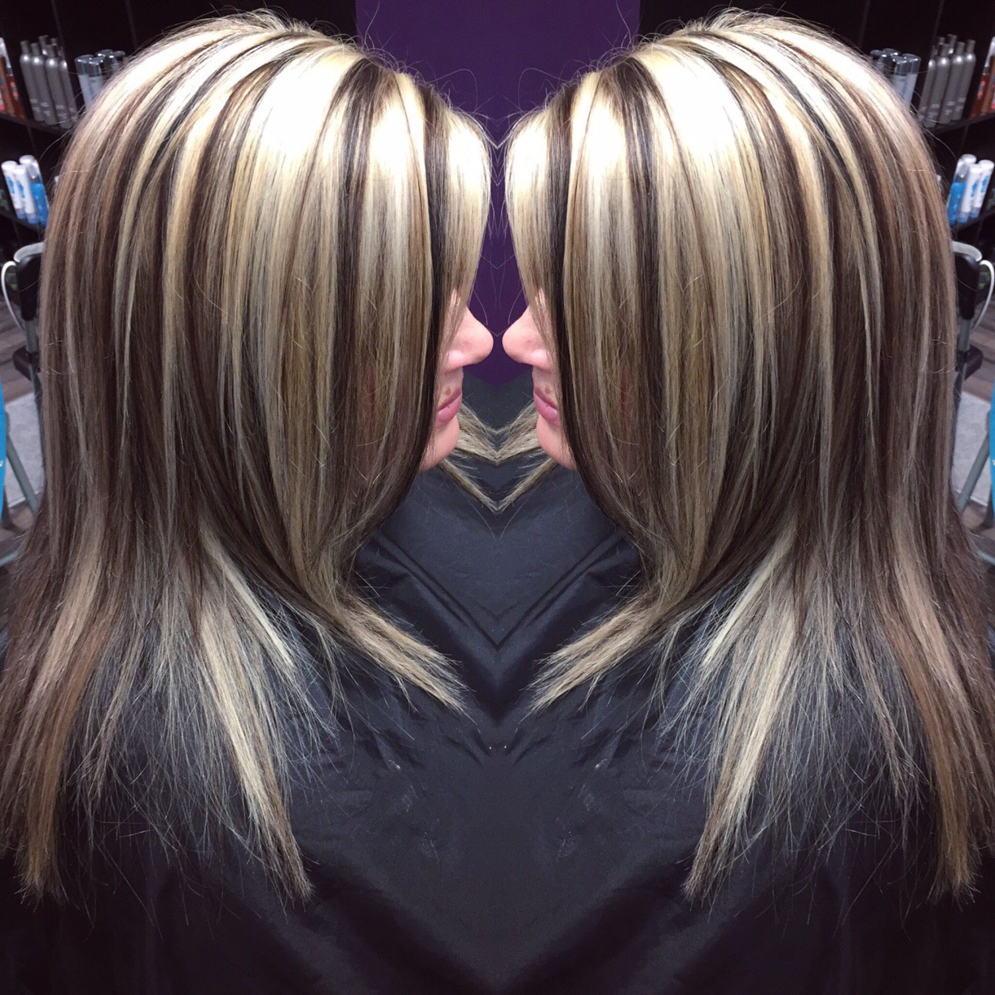 Pin by Kaila Sypula on Chunky highlights Dimensional