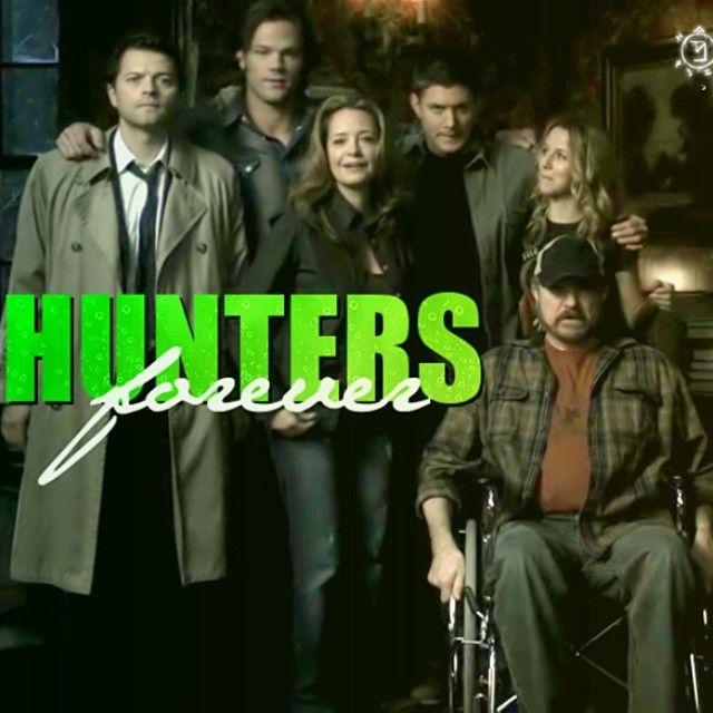 Hunters forever! #spnfamily #supernatural #Sobrenatural #spn #Hunters #spnfandom #castiel #SamWinchester #DeanWinchester #BobbySinger #Jo #Ellen #SPNBrazil