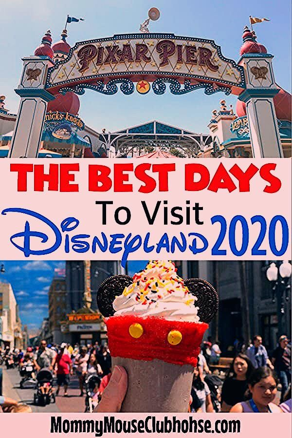 Photo of Disneyland Attendance Chart (Crowd Calendar) – The Mommy Mouse Clubhouse