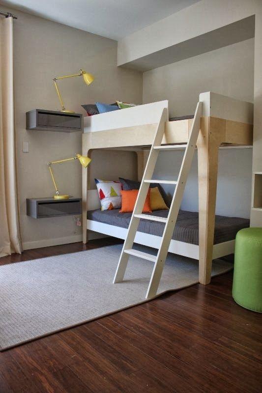 Decoraci n de habitaciones con literas literas originales for Dormitorios infantiles baratos