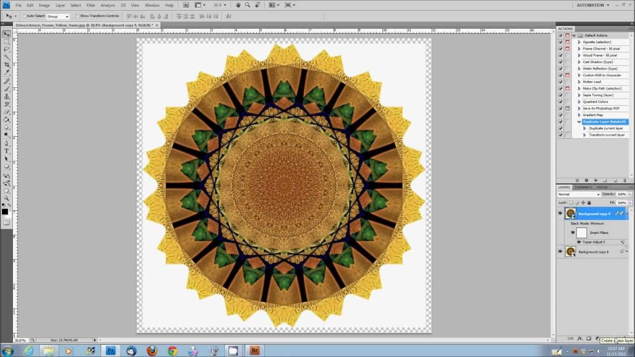 Create a Mandala Effect Using Extended or CC