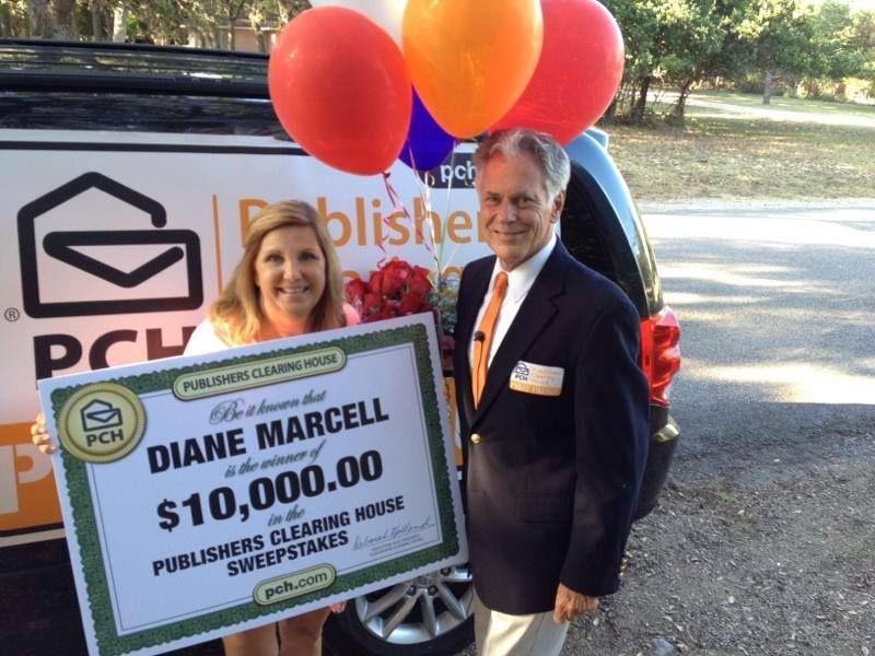 Publishers Clearing House Winners: Diane Marcell from Boerne