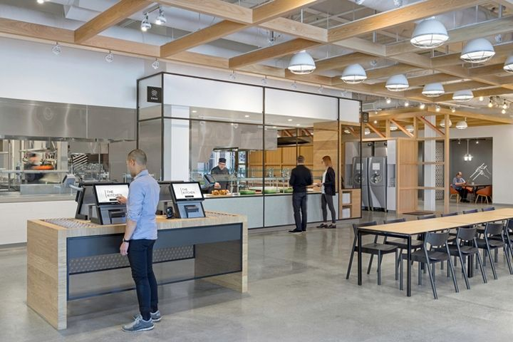 eBay Office Cafeteria by Gensler San Jose California Retail