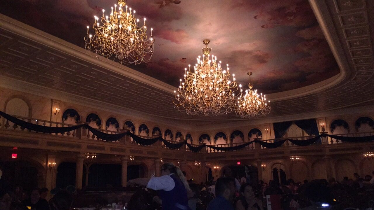 Be Our Guest restaurant in the Magic Kingdom Orlando   Photo by Sophie Mason