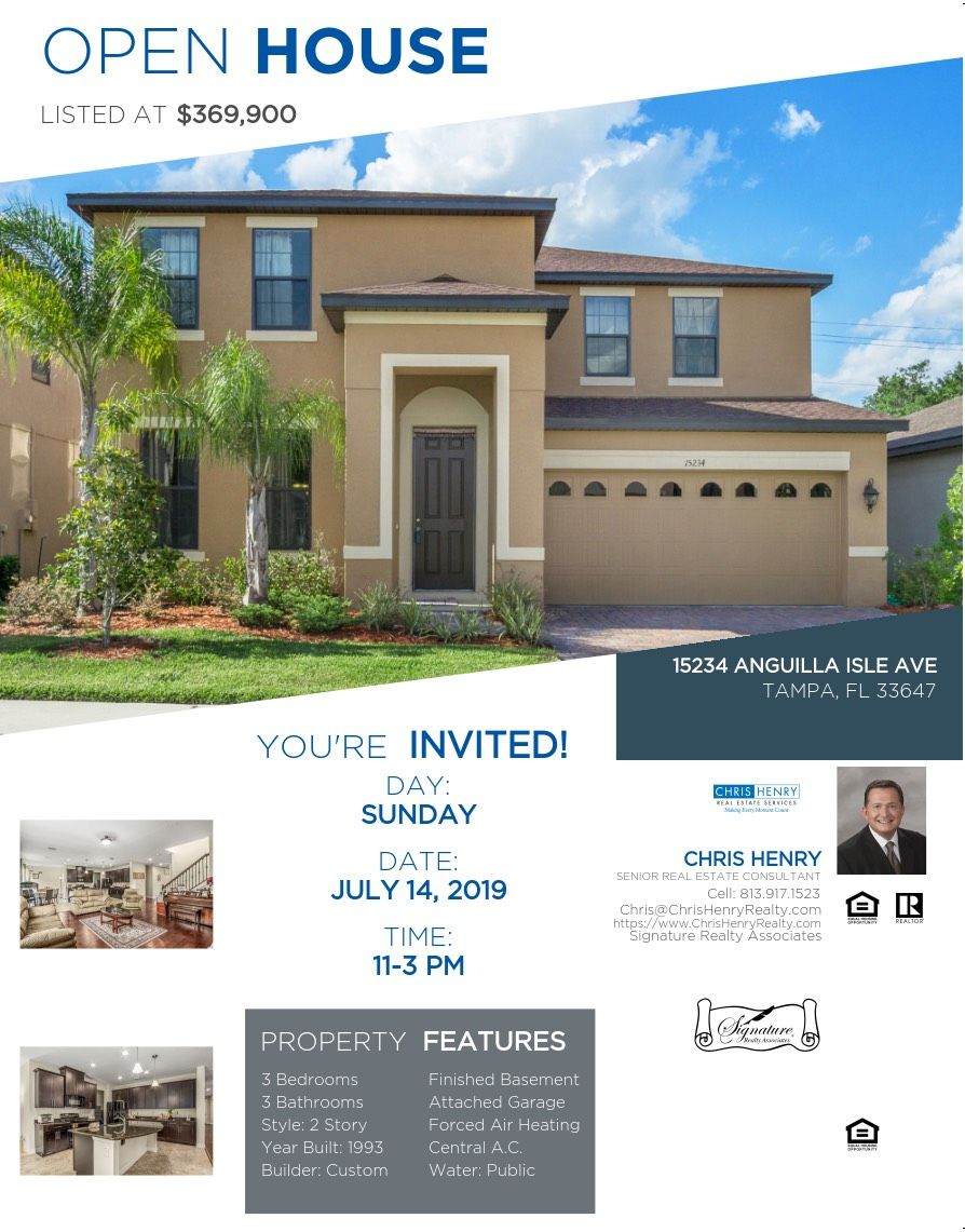 See You Soon! Garage style, Florida real estate, Open house