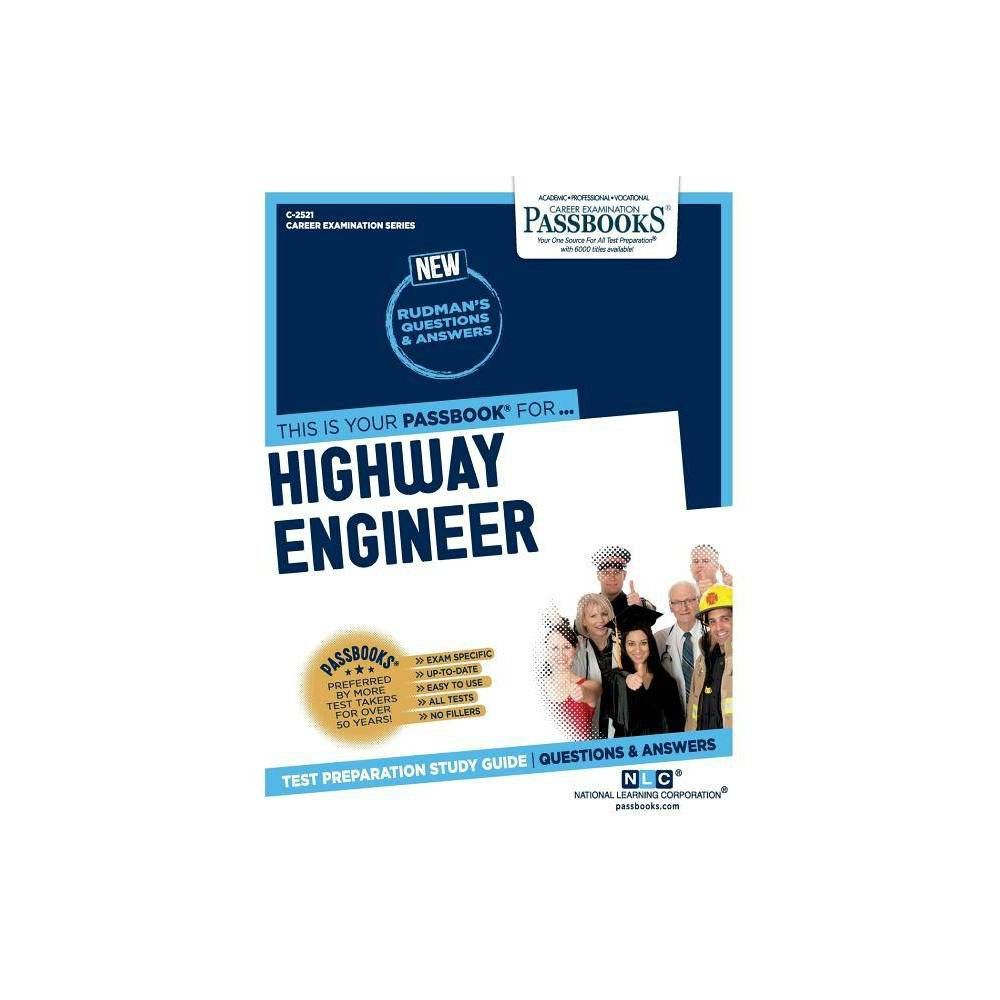 Highway Engineer By National Learning Corporation Paperback