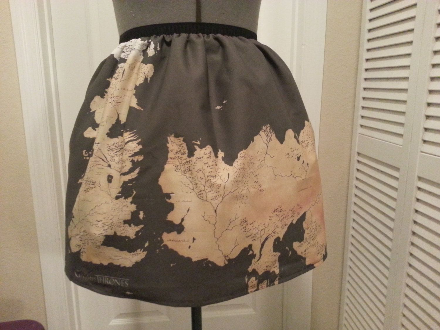 Oh my god love game of throne inspired skirt world map made to game of throne inspired skirt world map made to order 4500 via etsy gumiabroncs Gallery