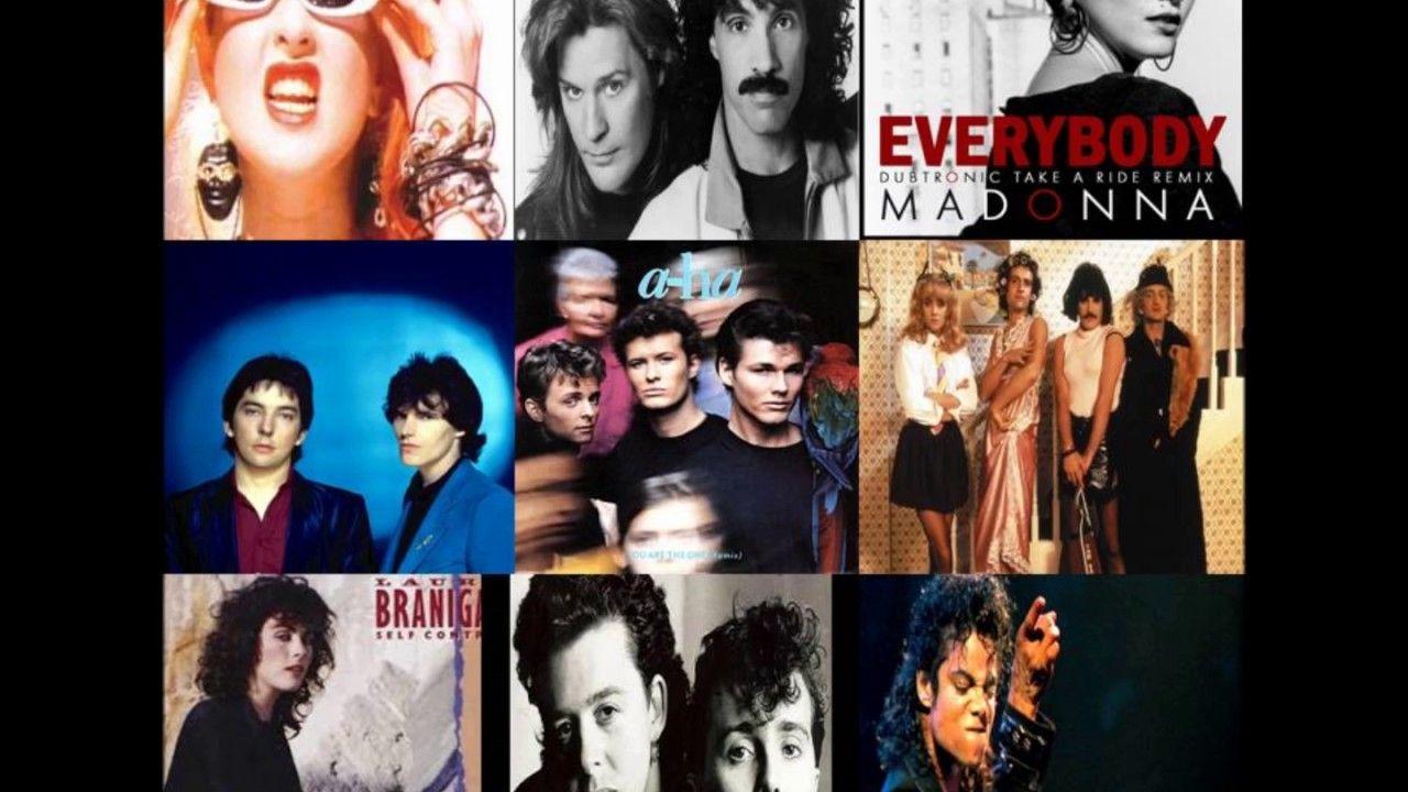Pop Rock Anos 80 Internacionais E Nacionais Em Versoes Extended E