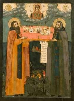 преподобные Зосима и Савватий Соловецкие