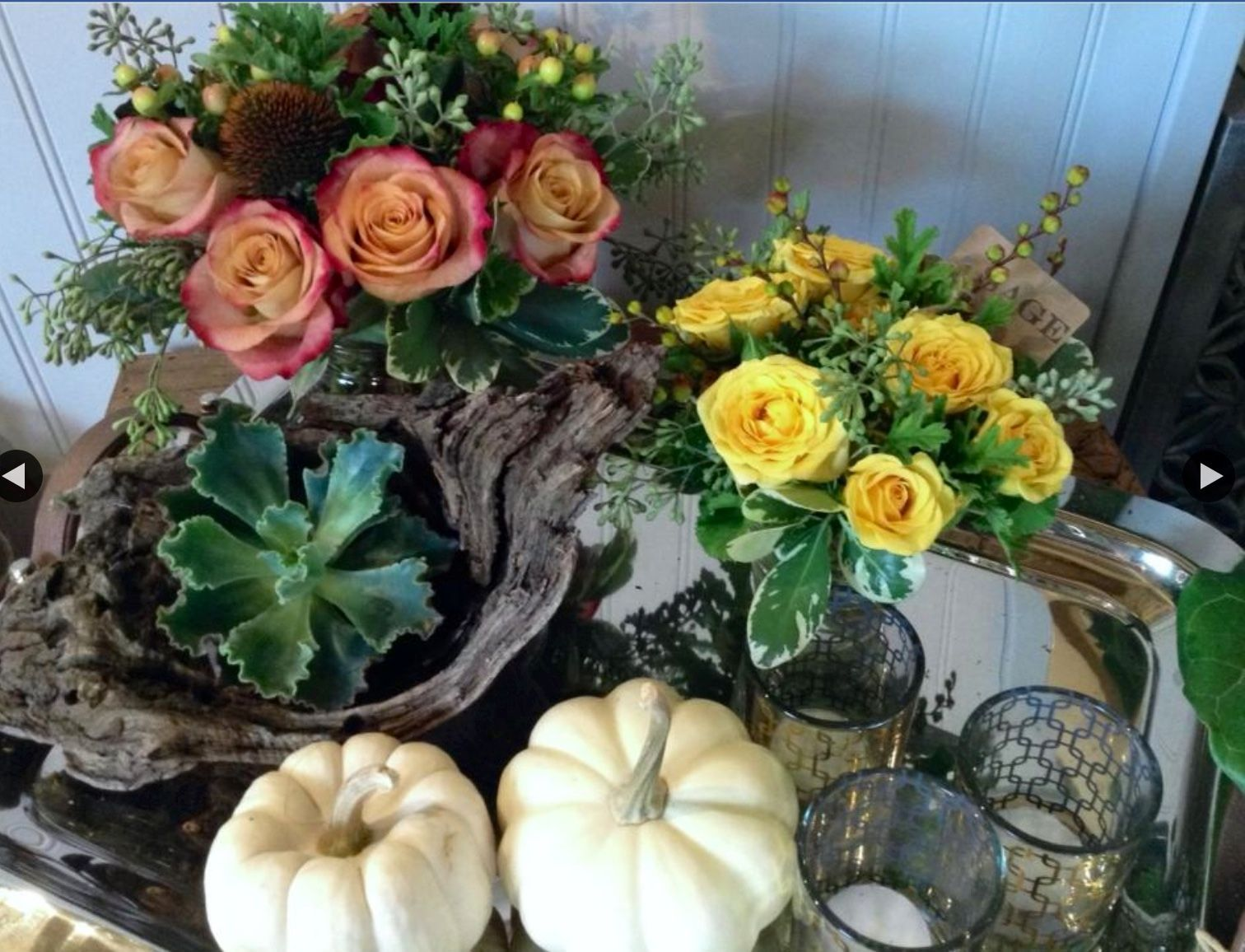 Pin by Newburyport Framers on Autumn Table decorations