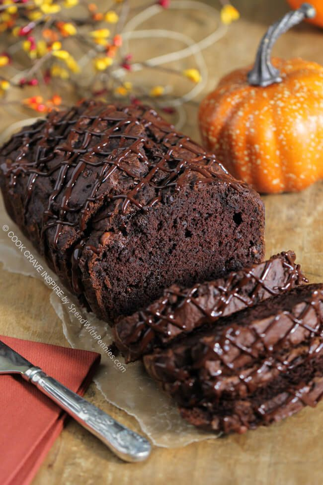 Triple Chocolate Bread A Rich Chocolatey Quick Bread With A Secret Ingredient To Keep It Extra