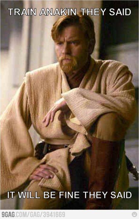 Bad Luck Obi Wan Star Wars Humor Star Wars Memes Star Wars Quizzes