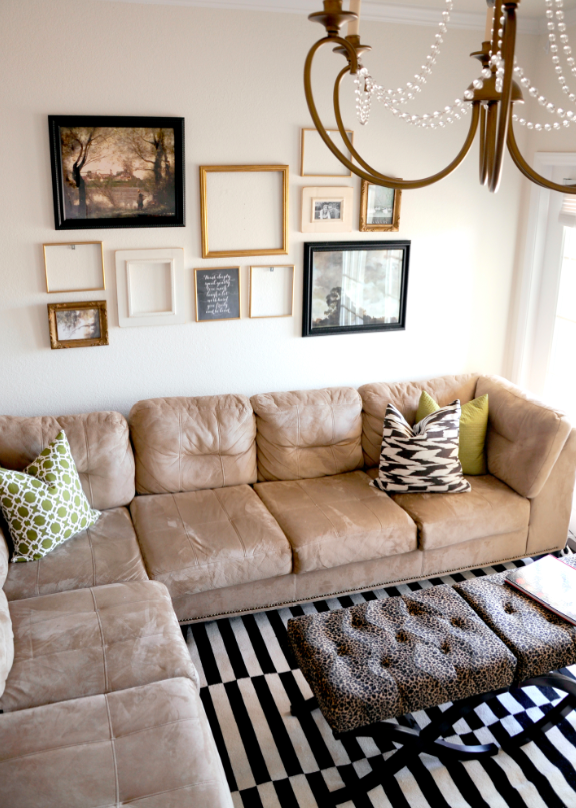 roost | marissa waddell interiors: a gallery for the sofa wall