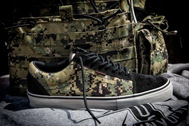 chaussures vans militaire