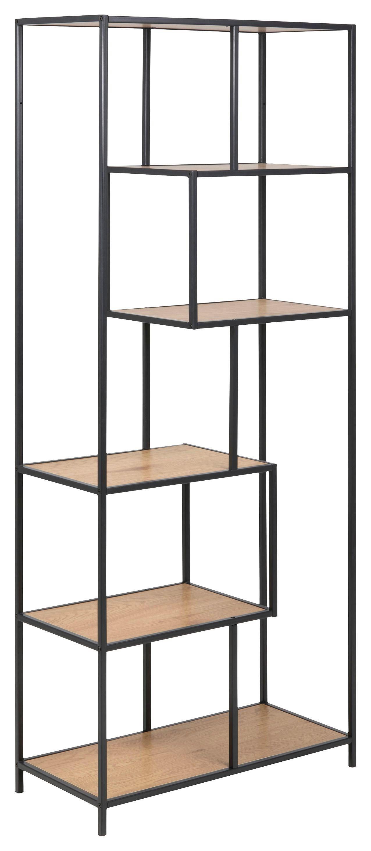 127775 128150 127775 128150 Shelf Oak Color Black Shelves Bookshelves Wallshelves Diy Regal Schwarz Regal Metall Regal