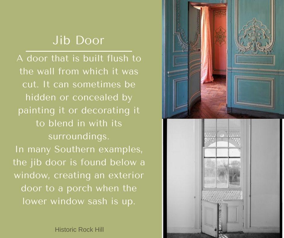 ABC\u0027s of Architecture Jib Door & ABC\u0027s of Architecture: Jib Door | Historic Preservation | Pinterest ...