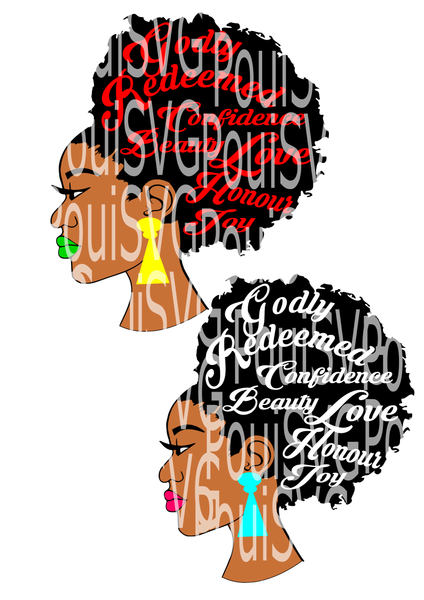 Pin On Afro Nubian Svg Cut Files