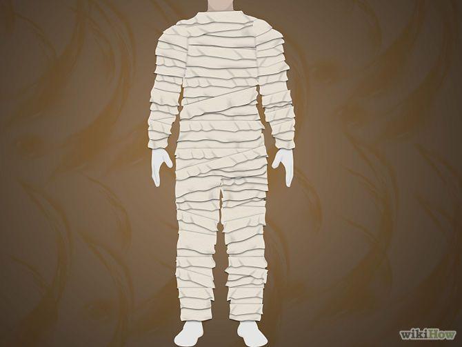 fabriquer un costume de momie egypte et pharaons pinterest momie d guisement momie et. Black Bedroom Furniture Sets. Home Design Ideas
