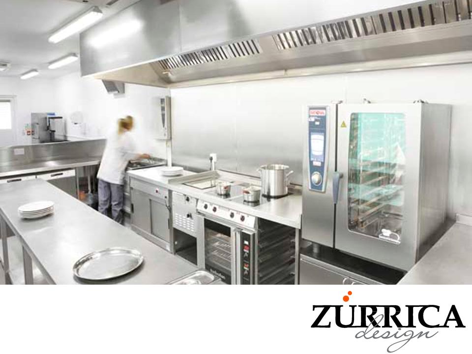 Las mejores cocinas industriales los equipos que for Mobiliario y equipo de cocina