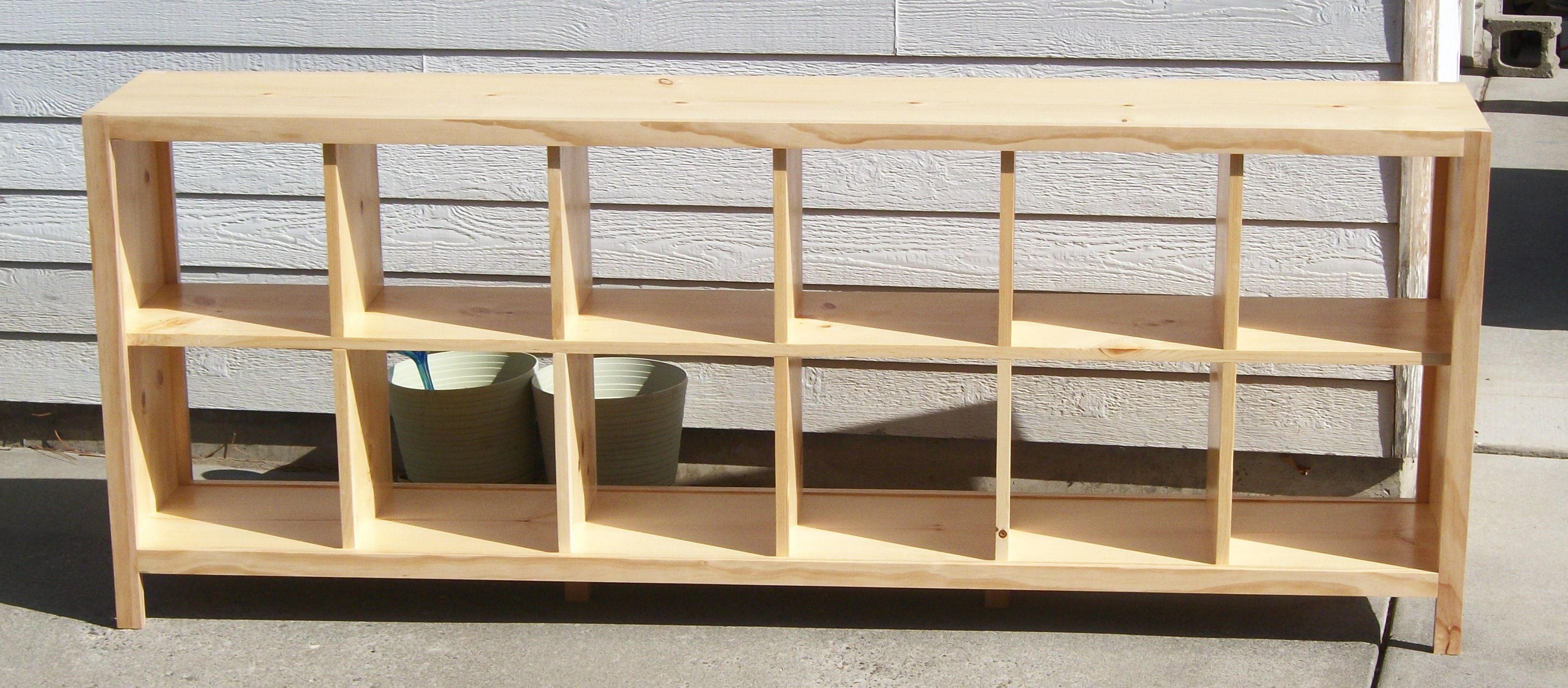 Easy Cube Bookcase Plans Built This For A Friend Of Mine Also