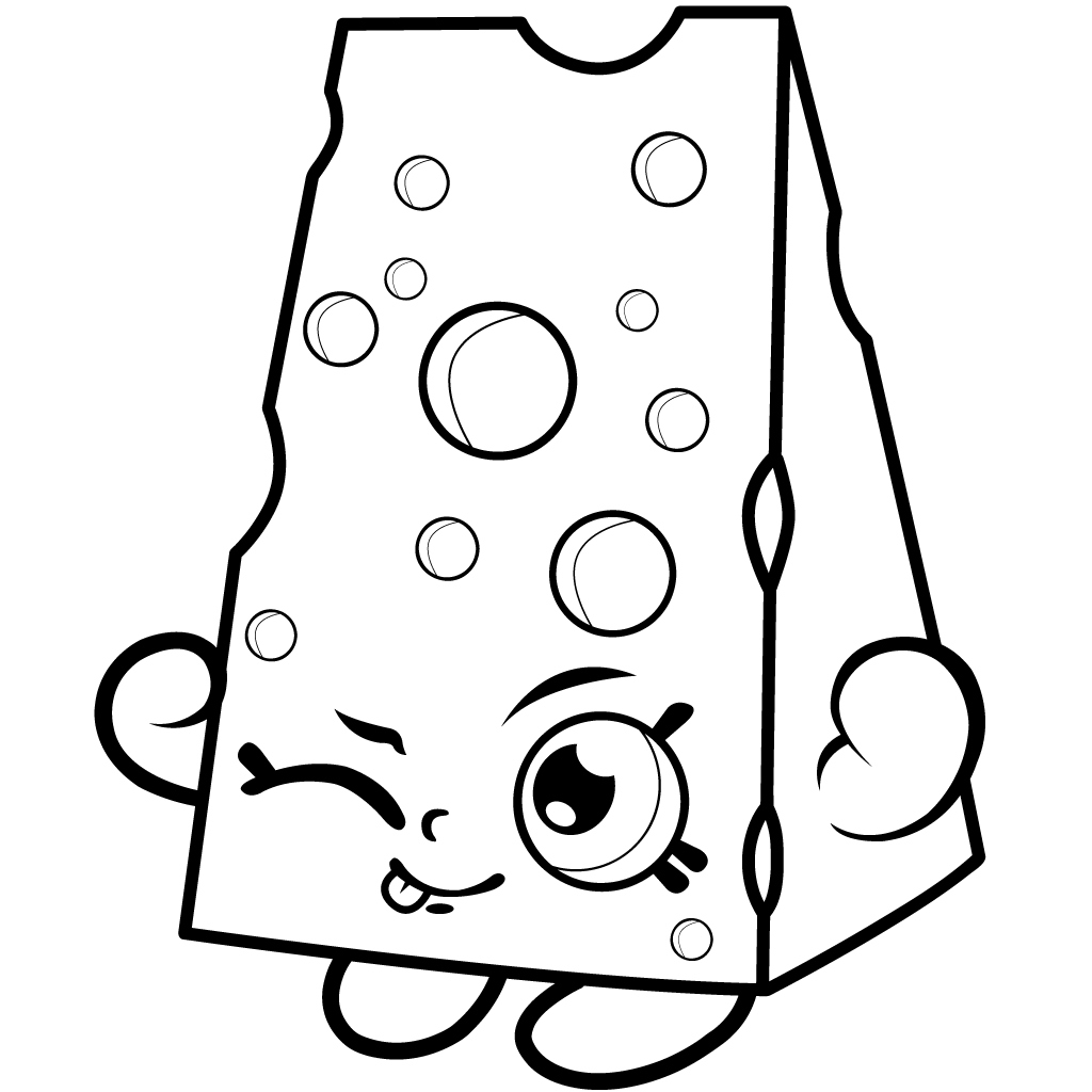 Shopkins Coloring Pages | Ausmalbilder und Vorlagen