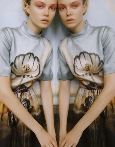 Siri Tollerod for Vogue UK