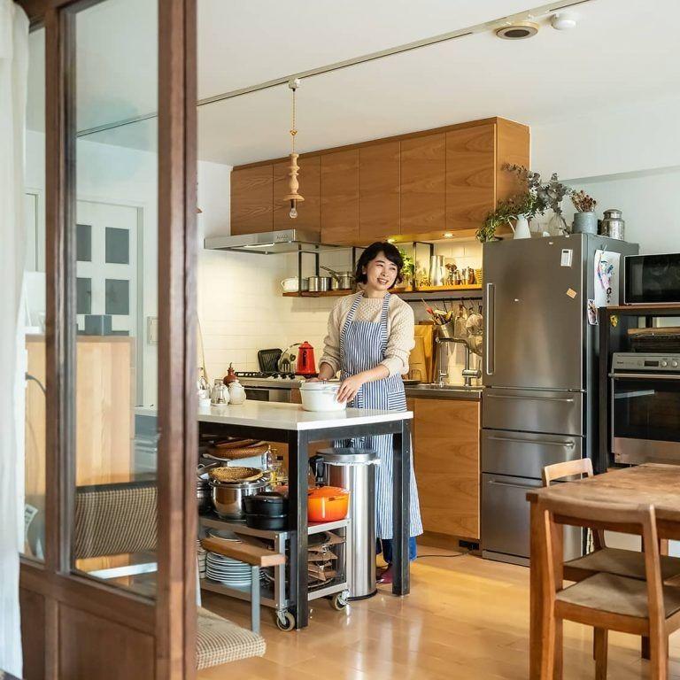 おもちゃは仕分けない 親も子もうれしい ざっくり 収納 リビング キッチン キッチンレイアウト キッチンデザイン