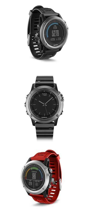 Introducing fēnix 3: the next smart multisport GPS watch.