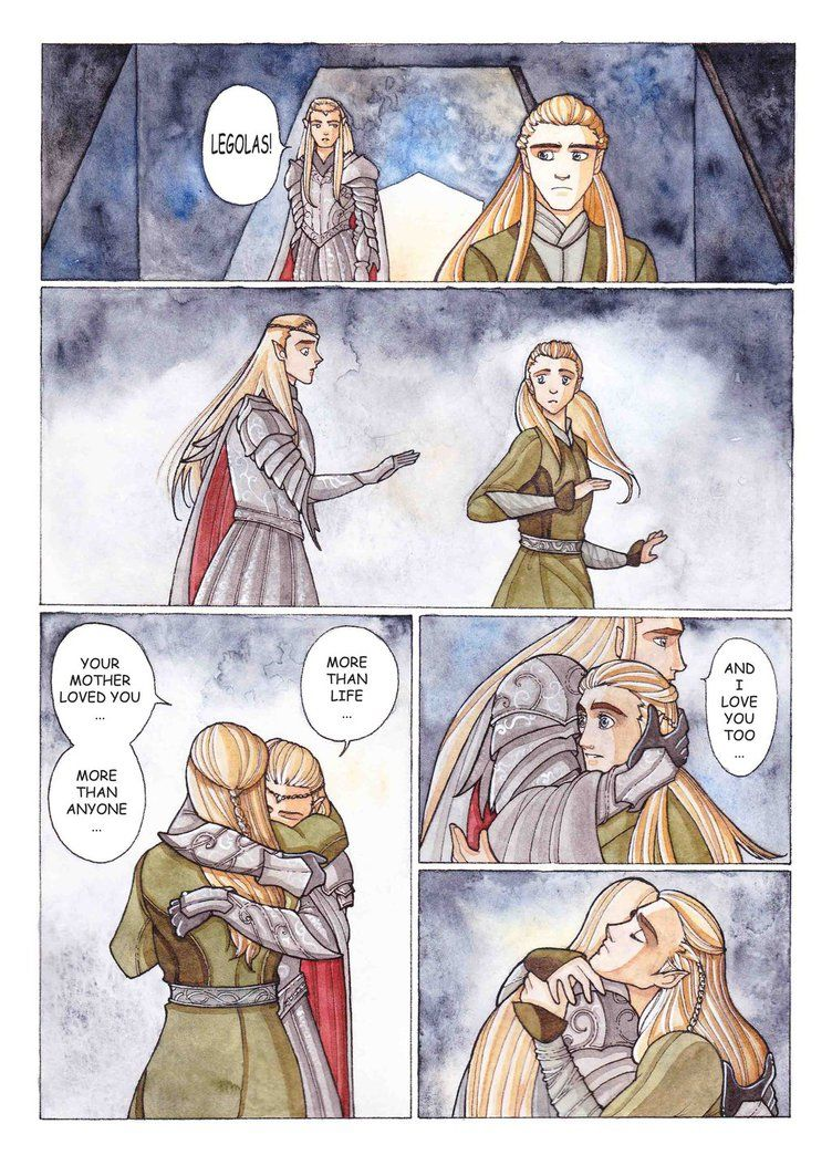 Legolas and Thranduil...as it should be! by Teodora85 on ...