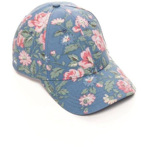 casual shoes pretty cool great deals Bcbgeneration Vintage Blue Floral Baseball Hat ($17 ...