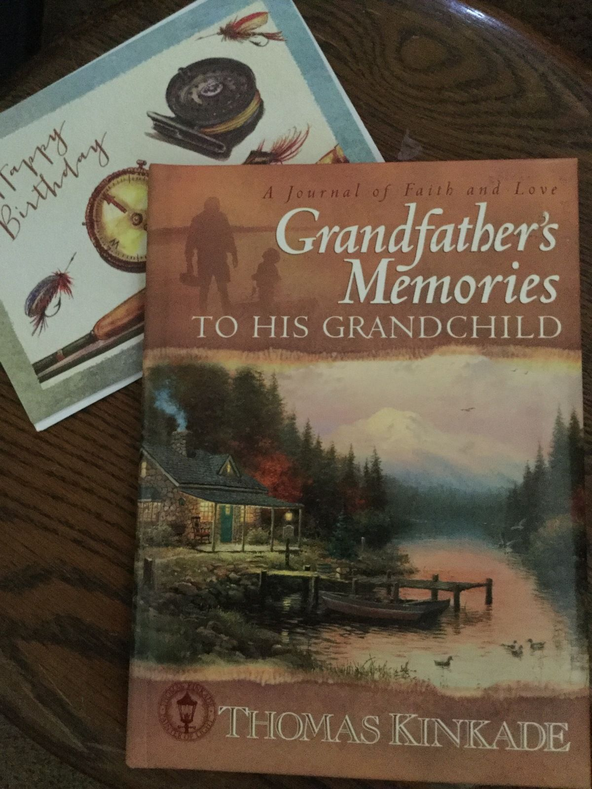 Pin by momentsinthyme on momentsinthyme at bonanza pinterest grandfathers memories journal book and happy birthday fishing greeting card kristyandbryce Choice Image