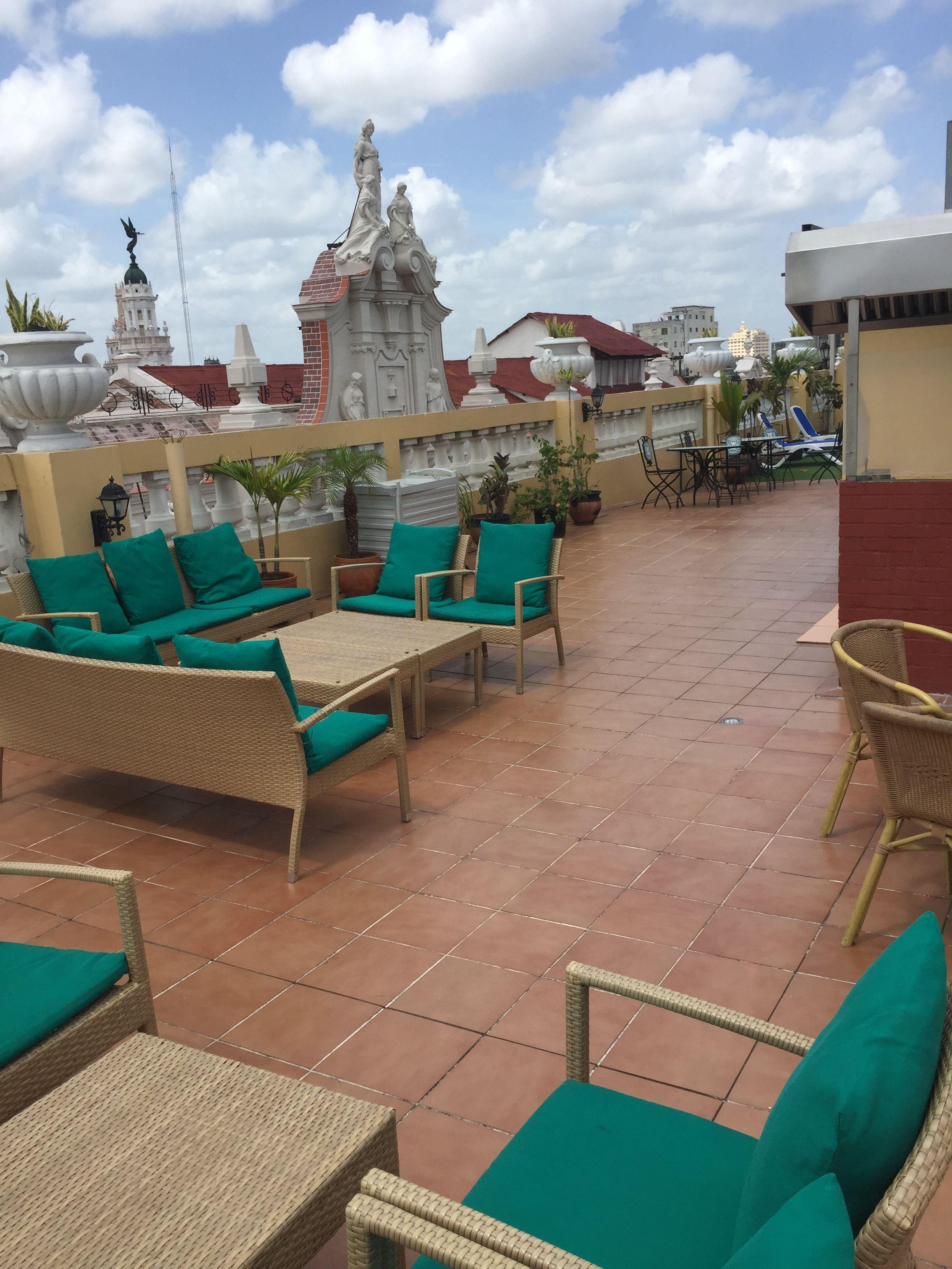Terraza Del Hotel Inglaterra Terrazas La Habana Y Recepciones