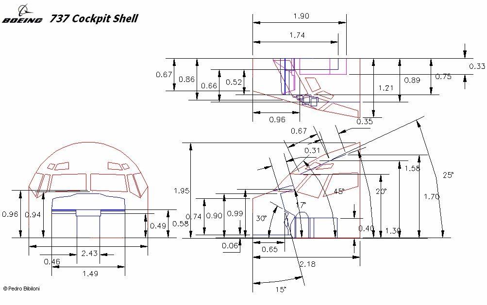Airbus A320 Cockpit Dimensions