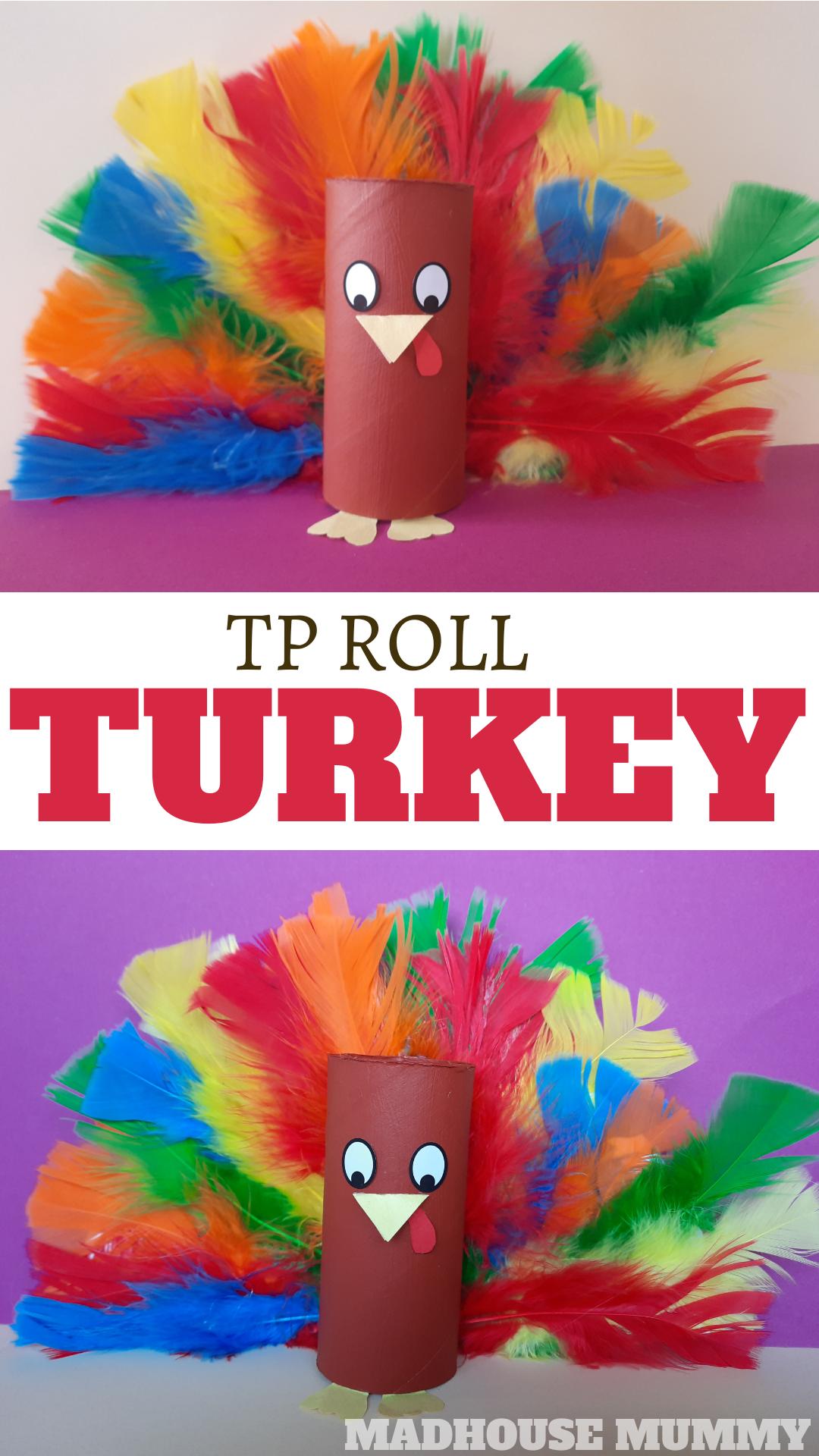 TP Roll turkey craft for kids