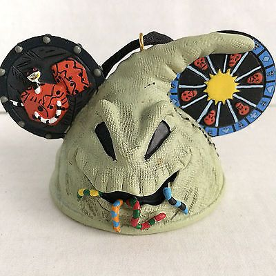 9e60ad506a1 Nightmare Before Christmas Oogie Boogie Ear Hat Ornament From Disney World