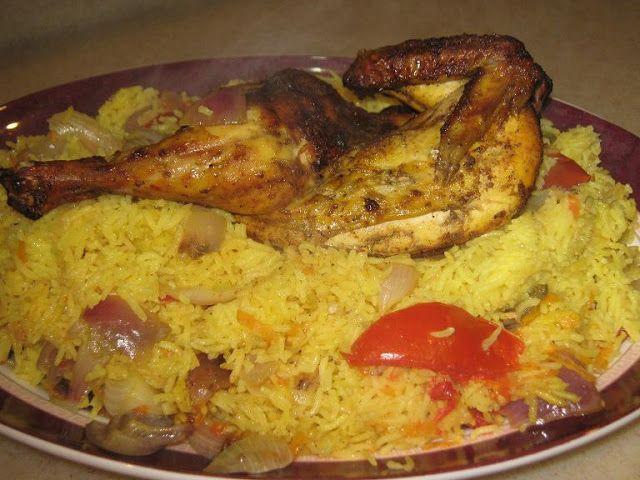 مندي دجاج يمني مقاديرمندي الدجاج اليمني 2 كوب رز 2ملعقة كبير زيت 1حبة متوسطة بصل مفروم ناعم Main Dish Recipes Ramadan Recipes Cooking