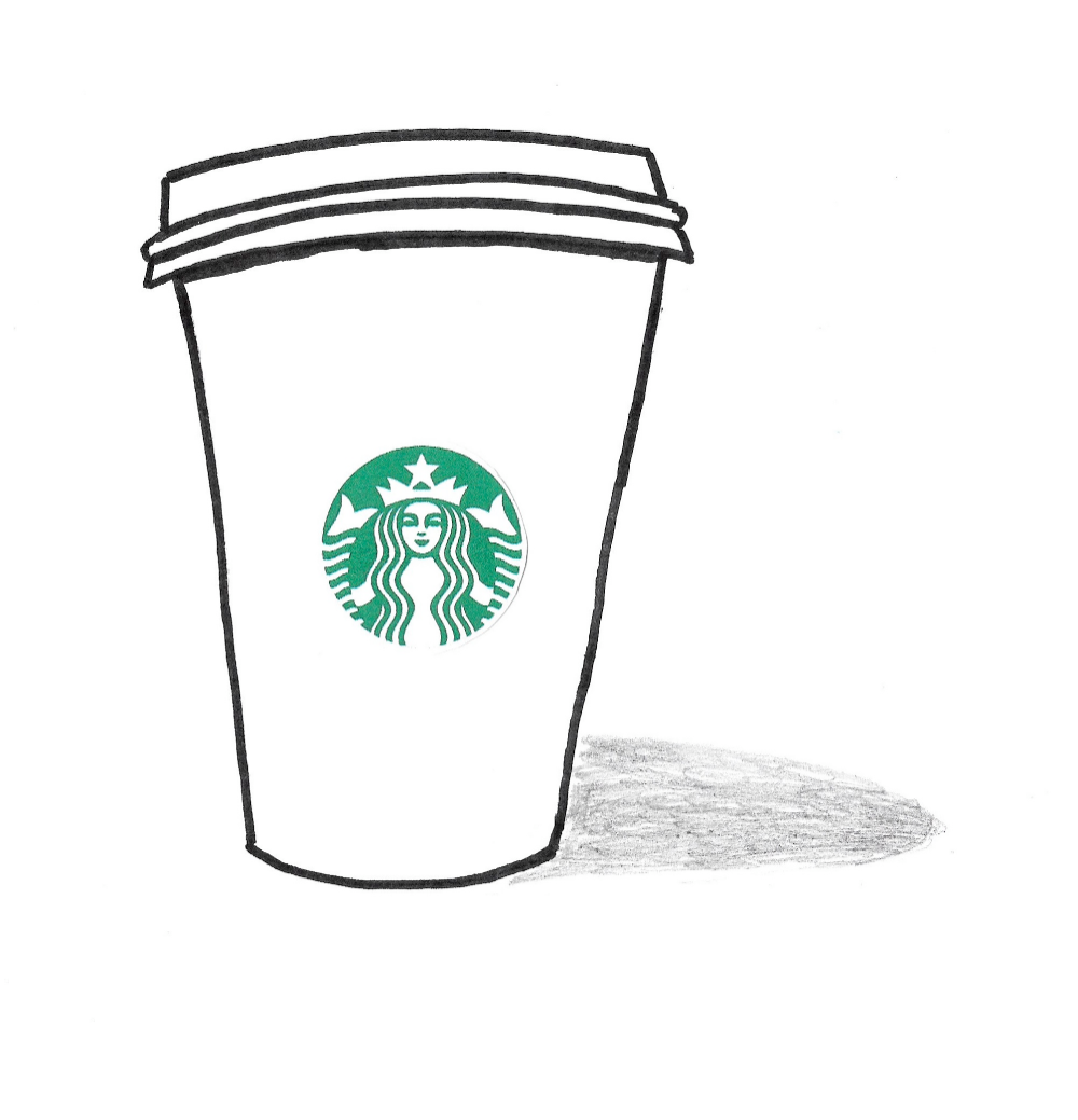 Starbucks Coloring Page  K24 Worksheets  Coloring pages