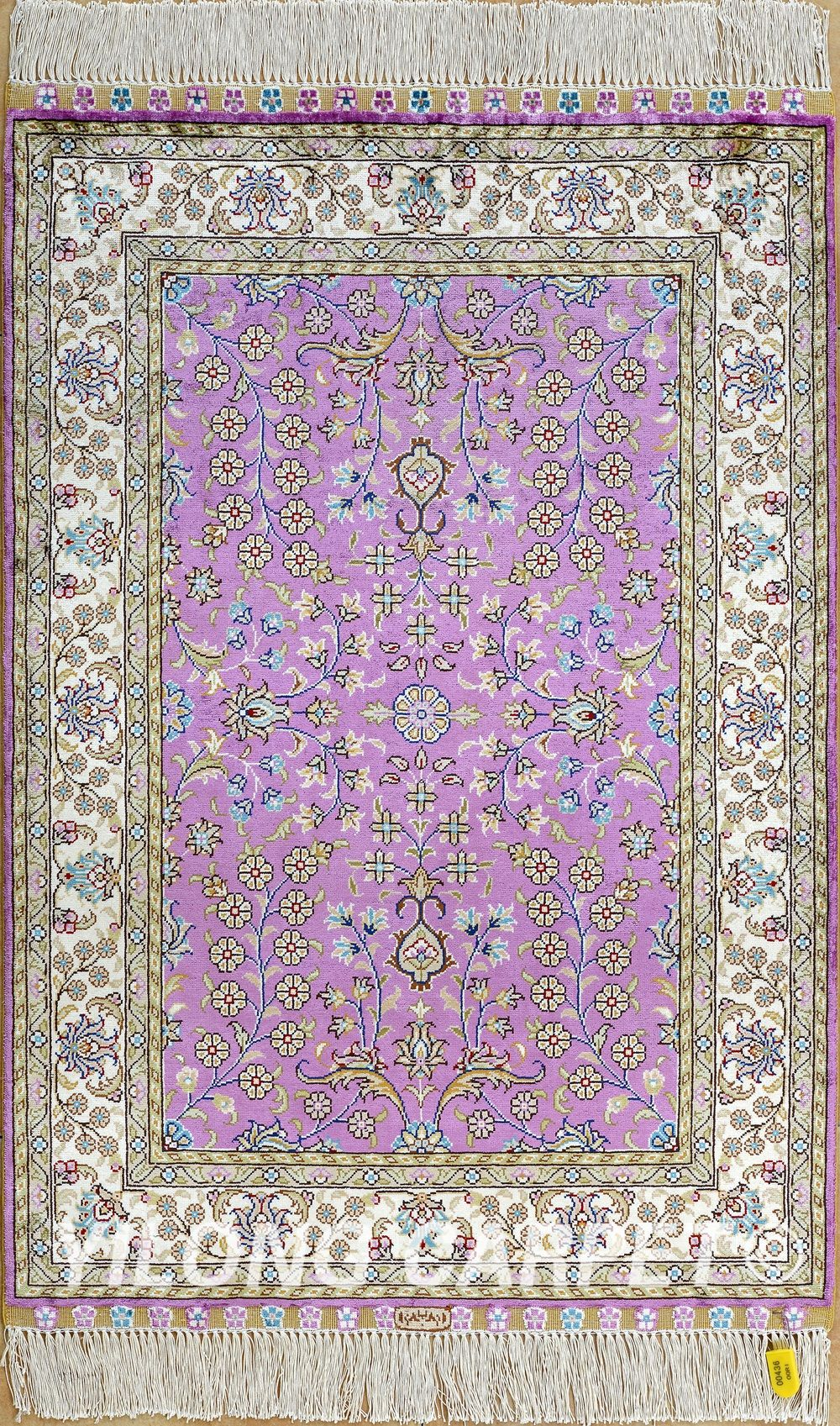 Persian Carpet Rug Pink Beige Blue Yellow Color Companies Material Prayer Dining Area