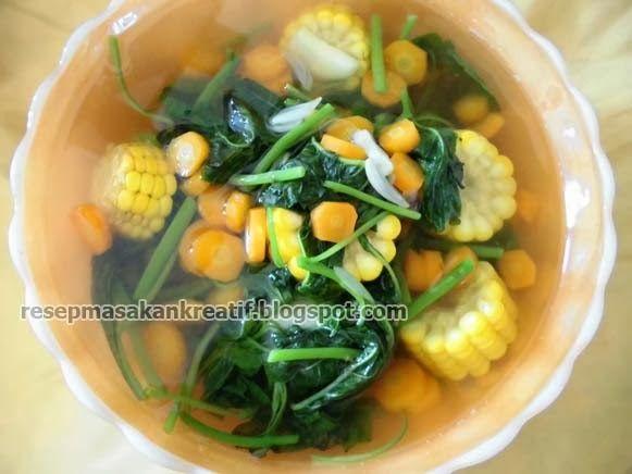 Cara Membuat Sayur Bayam Bening Resep Masakan Indonesia Resep Masakan Indonesia