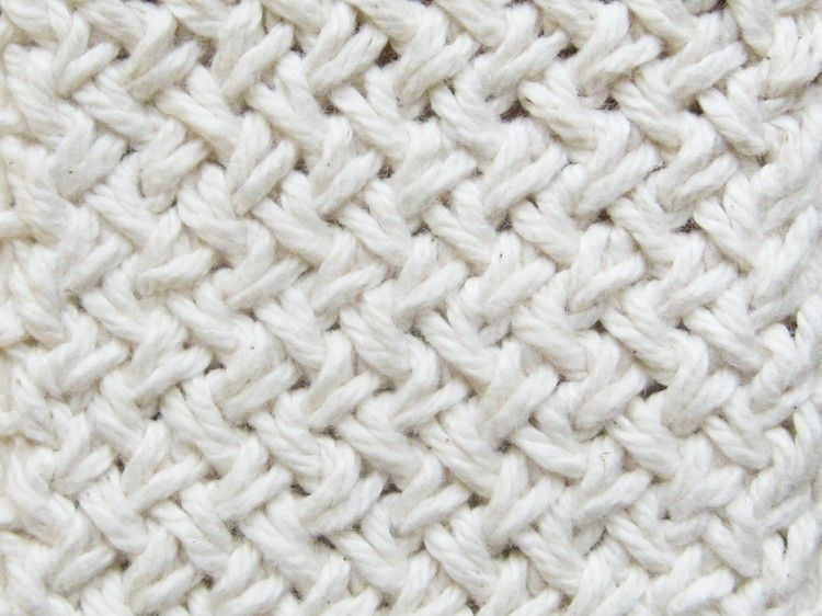 Diagonal Basketweave Knitting Pattern | Knit patterns, Patterns and ...