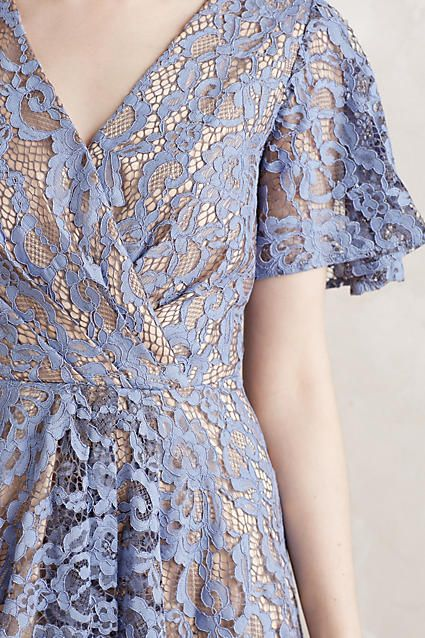 Genevieve Lace Dress in Lavender