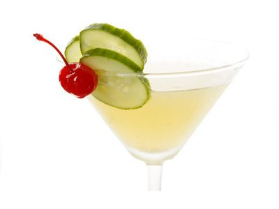 Cucumber Martini Recipe - With Directions for Making Cucumber Vodka