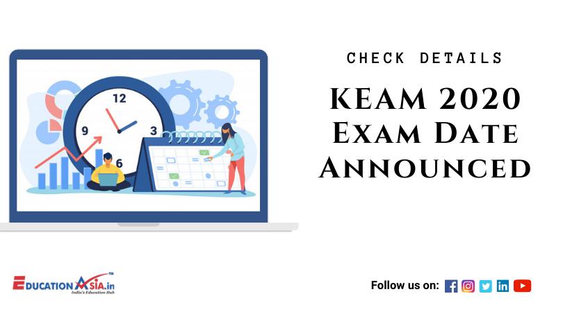 KEAM 2020 in 2020 Architecture exam, Exam, Education related