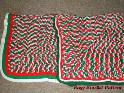 Caron Crochet Christmas Tree Skirt | Easy Crochet Pattern ...