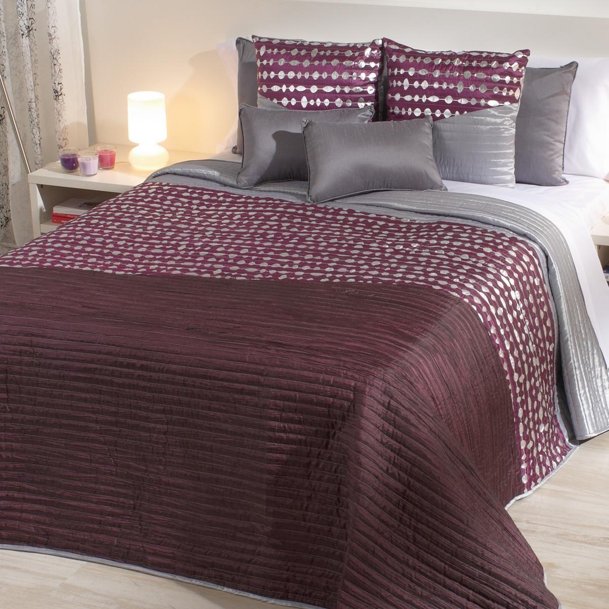 Oferta edredon bouti moradas bordadas originales online - Colchas de cama ikea ...