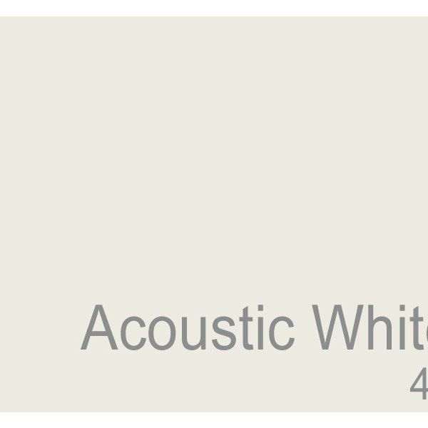 Slightly Cooler Than Antique White And Swiss Coffee Acoustic Is A Clean Neutral That Never Looks Too Stark