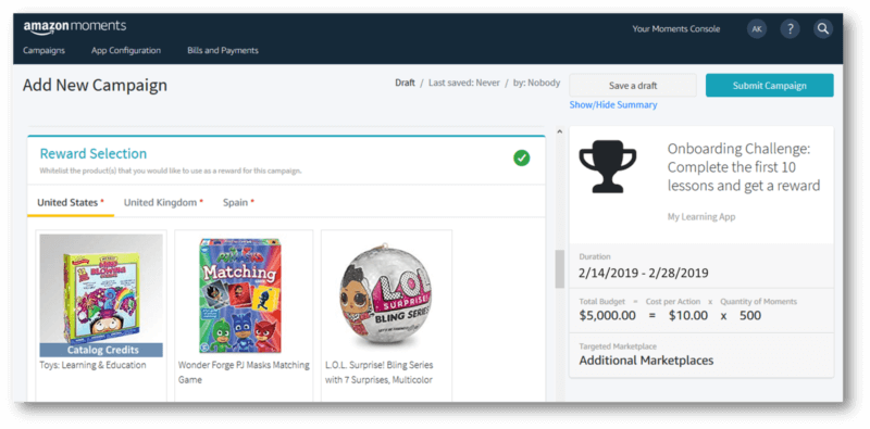 Amazon Moments Tool Gives Brands New Way To Build Deliver Loyalty Campaigns Https Www Charleskush Com Blo In This Moment Marketing Graphics Video Services