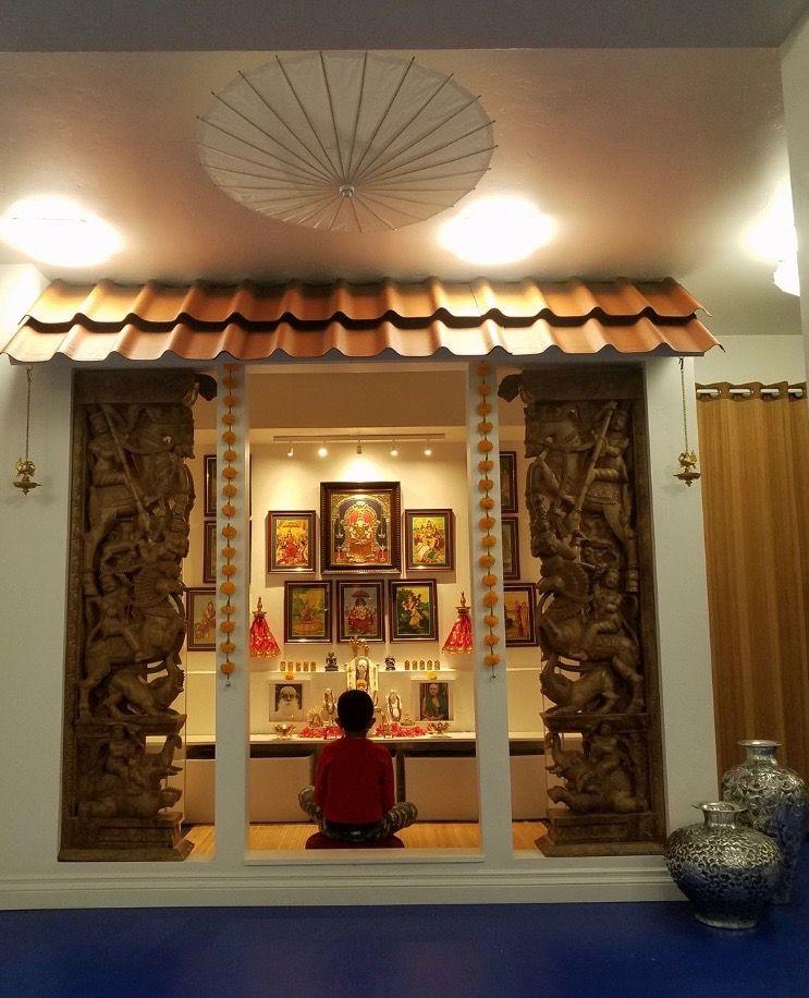 20 Mandir Designs For Indian Homes: Pooja Room Door Design, Room Door Design