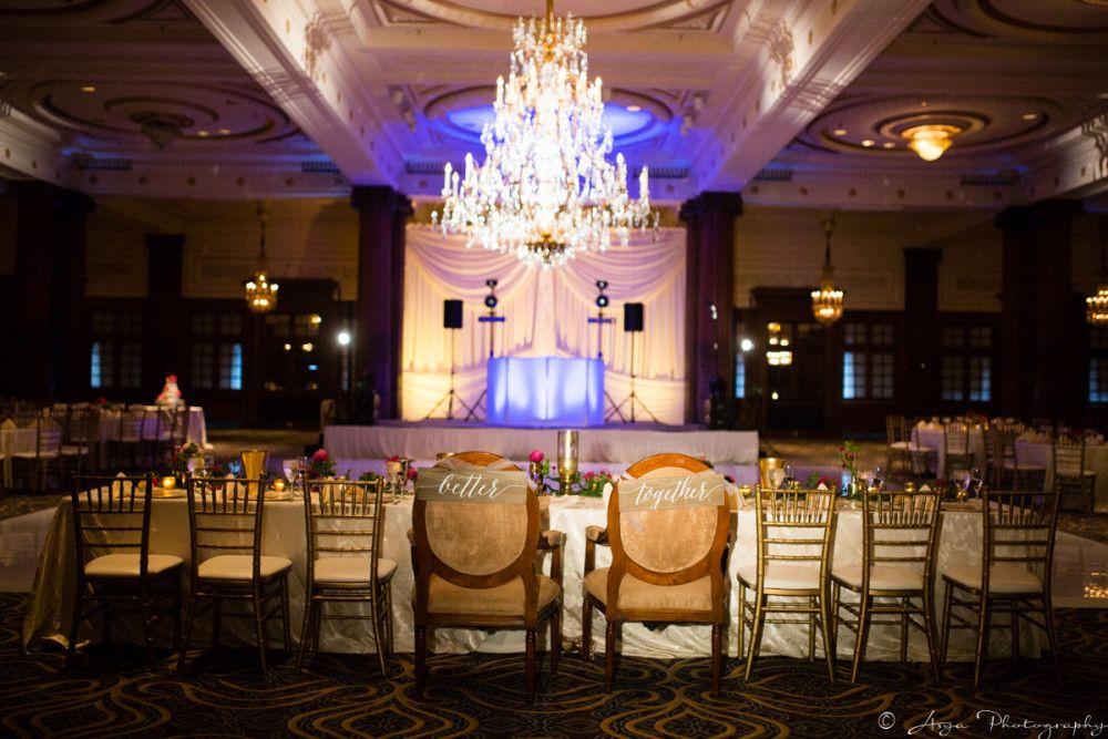 Crystal Tea Room Reception Sweetheart Table Ballroom Wedding Crystaltearoom Wedding Robertsonsflowers Robertsonsweddin Tea Room Crystals Ballroom Wedding