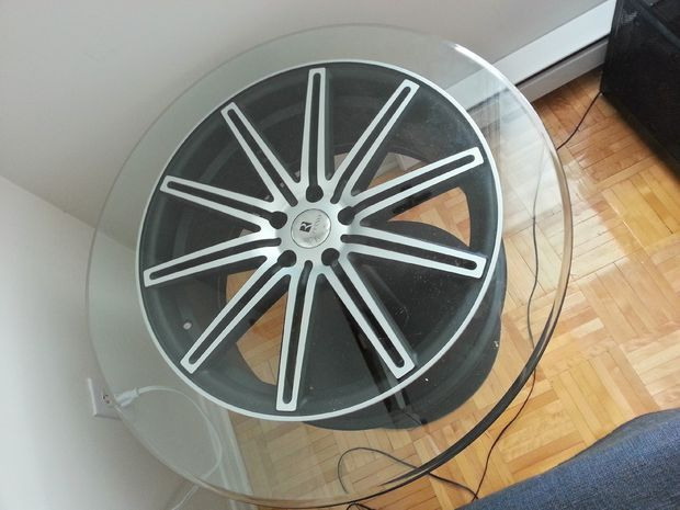 Diy Rim Coffee Table